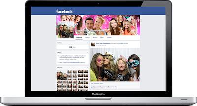 facebook page mockup - Photosnap