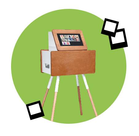 Insta Mini booth